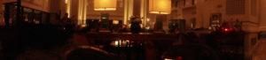 ロビーラウンジをパノラマ撮影