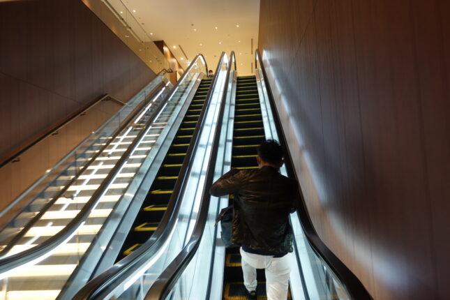 福岡空港 サクララウンジ エレベーター