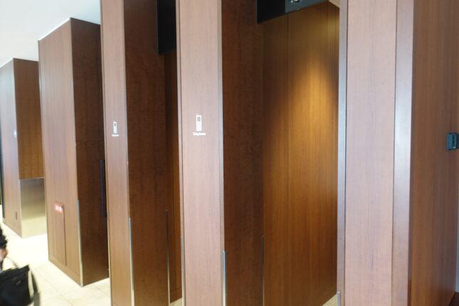 福岡空港 サクララウンジ 通話スペース
